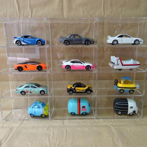 hộp mica đựng mô hình xe hơi
